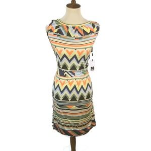 Missoni Boat Neck  Dress NWT Italy Size 46 / US 10